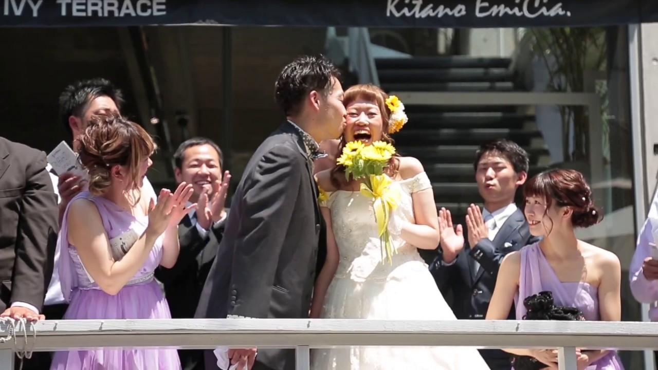 神戸 神戸北野アイビーテラス 結婚式 エンドロール 挙式 披露宴