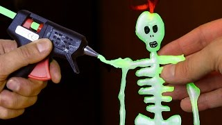 DIY Glow in the Dark Skeleton