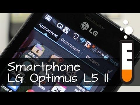 Optimus L5 II LG Smartphone E450 - Resenha Brasil