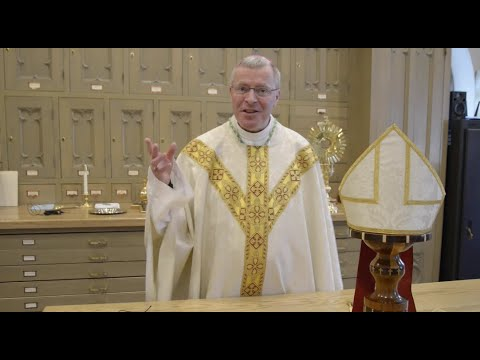 Bishop Vetter's Friday Message | In the Sacristy-Part I