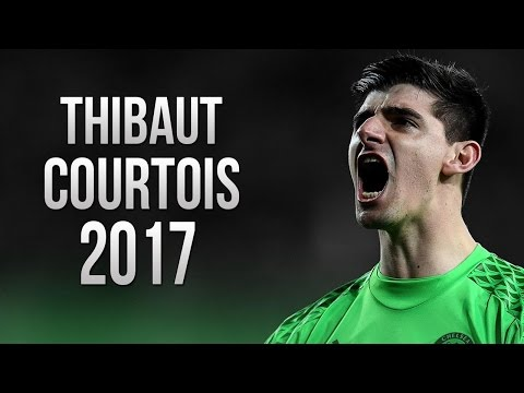 Thibaut Courtois - Crazy Beast Saves - Chelsea FC - 2017