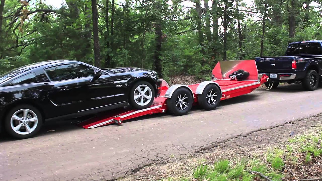 Maxey Trailers 7k Drop N Load A5 Youtube