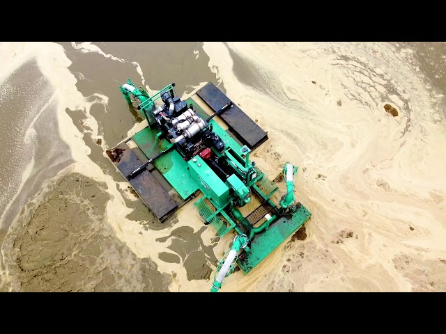 Drone Footage of a JT Manure Agitator Boat 1800 Series