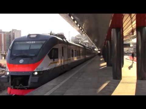 Электропоезд ЭП2Д-0057 ЦППК платформа Пенягино