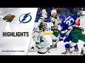 NHL Highlights Wild Lightning 12 5 19 mp3