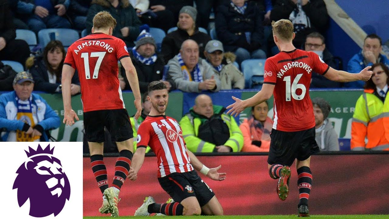 Shane Long scores from tight angle for Southampton | Premier League | NBC Sports