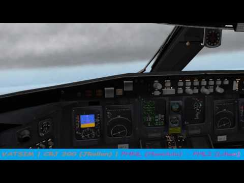VATSIM   CRJ 200 (JRollon)   PHNL - PHLI (Part 6 of 6 Hops)