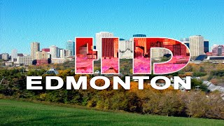 EDMONTON , ALBERTA / CANADA - A WALKING TRAVEL TOUR - HD 1080P