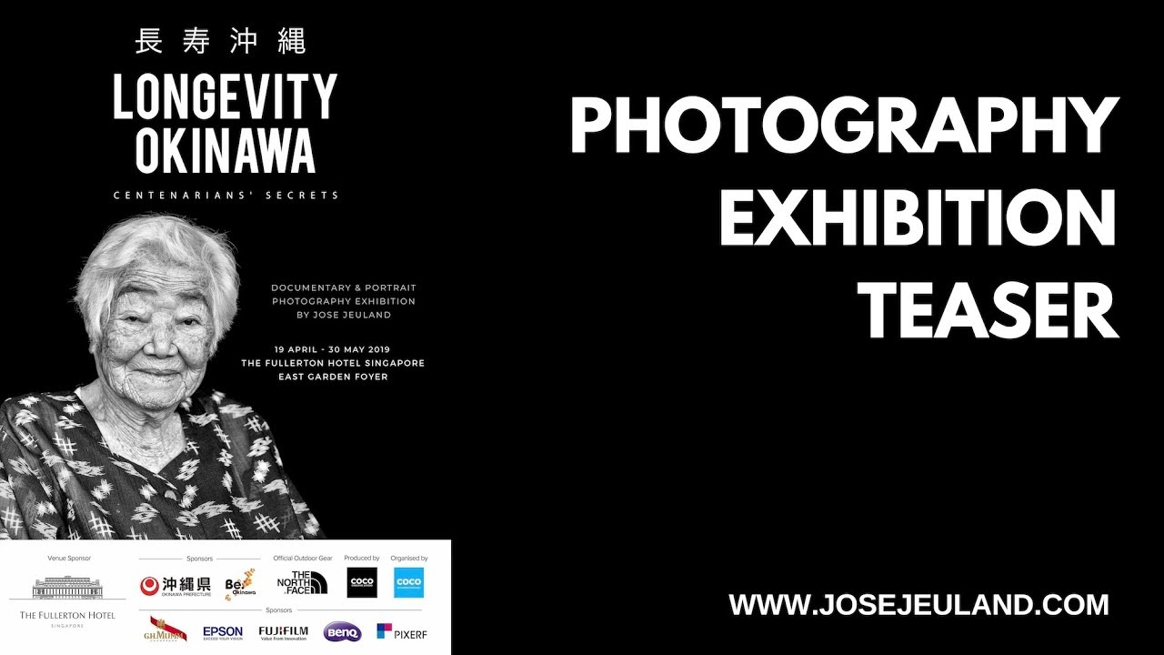 '' LONGEVITY OKINAWA '' Photography Exhibition  by Jose Jeuland