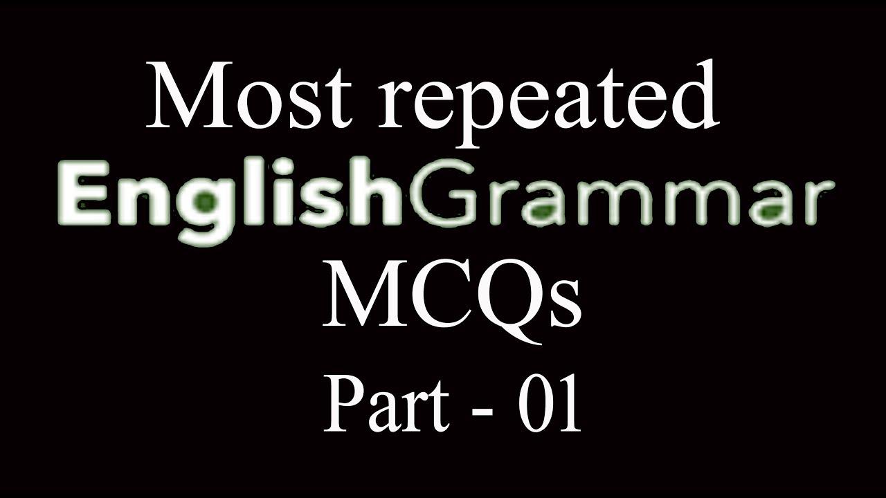 English Grammar | English Grammar in Urdu | English Grammar MCQs | Part - 01
