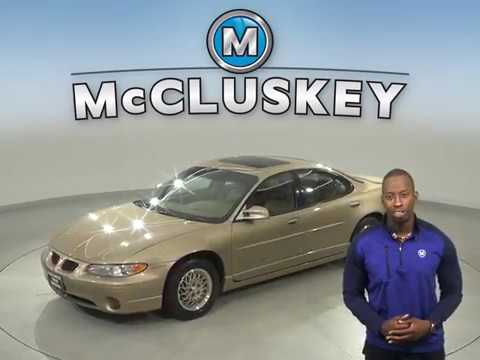 A15277GP Used 1998 Pontiac Grand Prix GT FWD 4D Sedan Test Drive, Review, For Sale -
