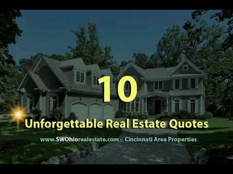 10 Unforgettable Real Estate Quotes