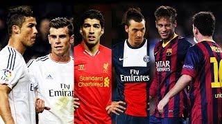 Best Football Skill Show 2014 ● Ronaldo ● Messi ● Neymar ● Bale ● Suarez ● Ibrahimovic ● Hd