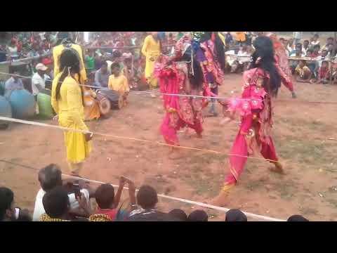 Purulia . chow dance raidih Kali mela
