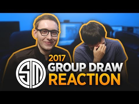 TSM Reacts to Worlds 2017 Group Draw