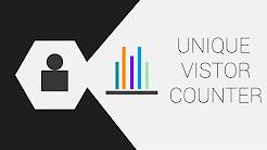 Unique Visitor Counter   PHP & MySQL - TheMindSpeaks