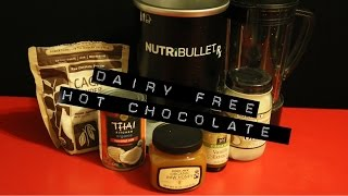 "Nutribullet Rx ""dairy Free Hot Chocolate"""