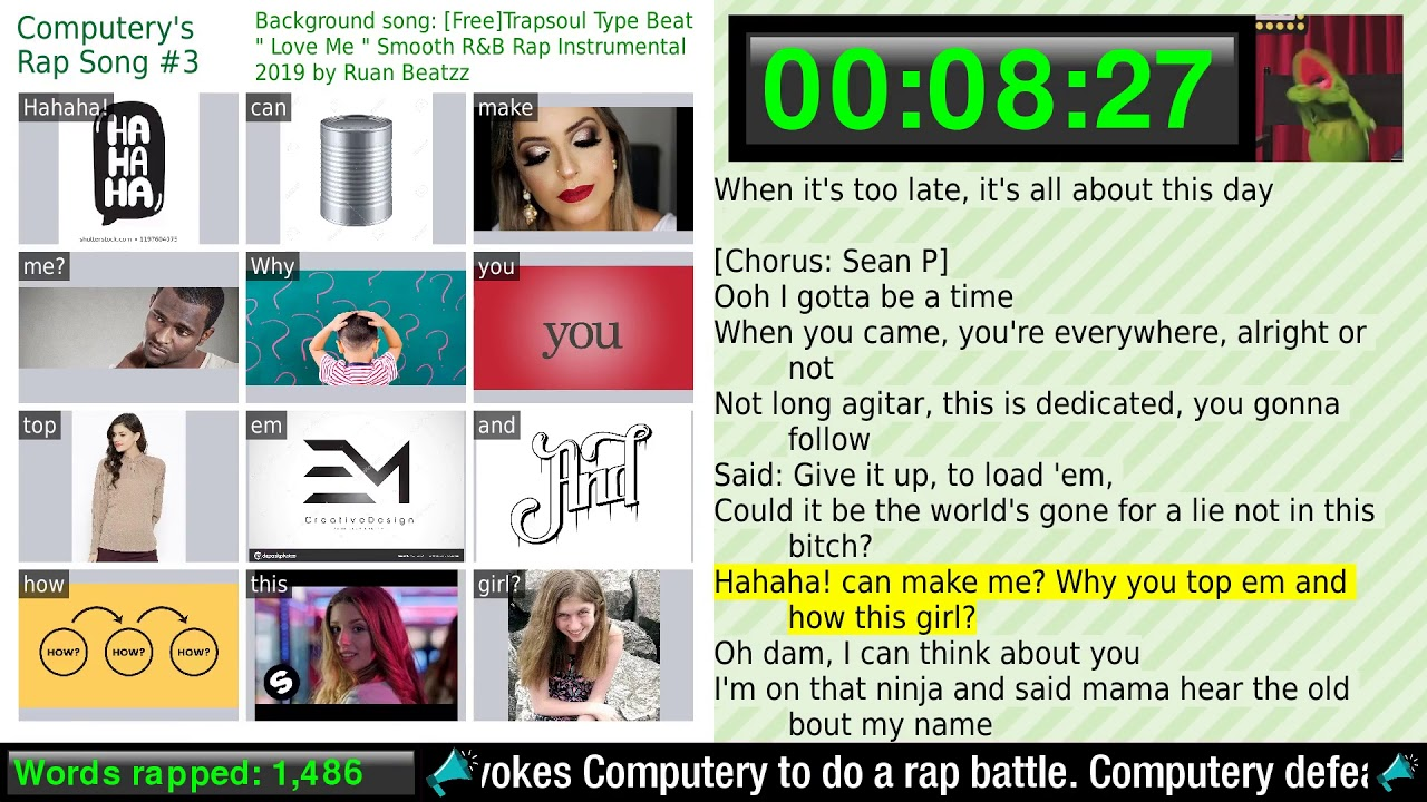 (explicit) TEN HOURS OF AI RAP TO HELP YOU STUDY / CHILL OUT / GET HYPED /  FALL ASLEEP / FIND LOVE