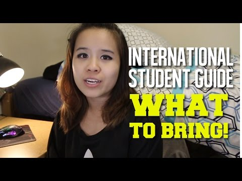 International Student Guide : What to bring?