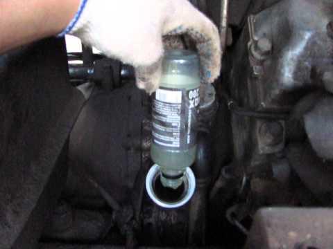 SUPROTEC залил в двигатель КамаЗ (7 часть)