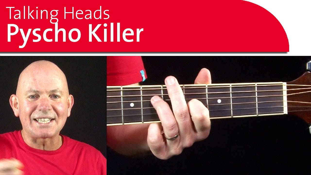 Psycho Killer Chords Talking Heads Guitar Lesson Youtube