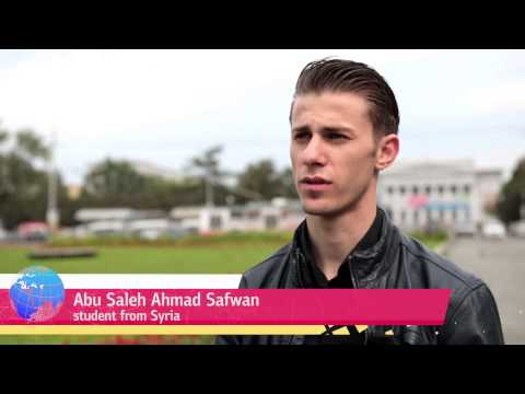 Work and leisure for URFU international students