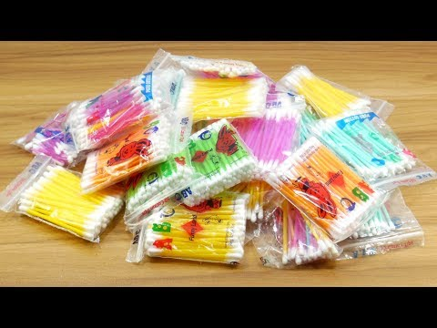 wow !! Best craft with cotton buds | Best craft idea | DIY arts and crafts | DIY cotton buds