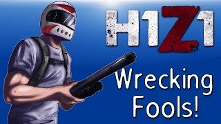 H1Z1 - Co-op Moments Ep. 15 (Crashing, Epic Jumps, Wrecking Fools!, Bad luck!)