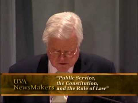 U.S. Sen. Ted Kennedy '59, 2006 Conference on Public Service