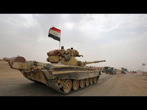 القوات العراقية تفتح جبهتي قتال ضد آخر معقلين لتنظيم -الدولة الإسلامية-