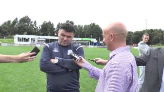 post match interview with ian bogie skelmersdale united 10 08 2013