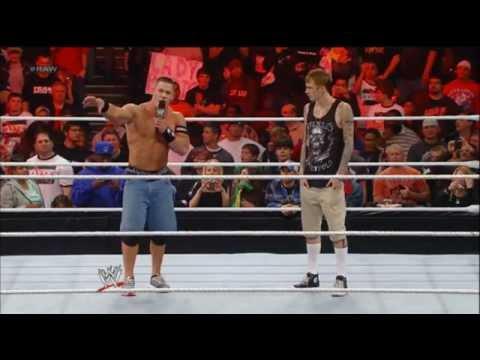 John Cena Invites MGK To Wrestlemania 28'