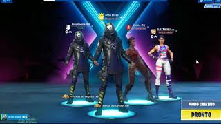 Livinho _ Mc23 wins skin at Fortnite