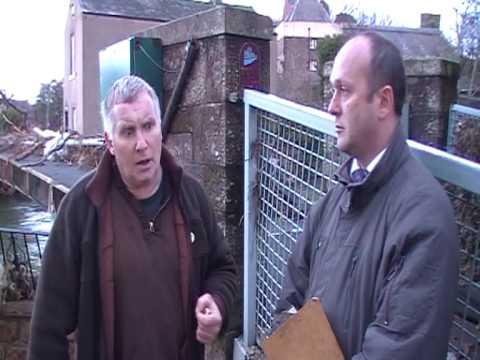 nick griffins bnp constituency team visit cockermouth
