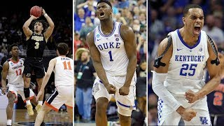 MARCH MADNESS Elite Eight Highlights - 2019 NCAA Tournament