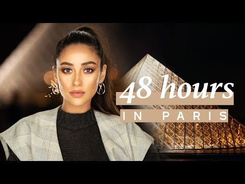 Shay Mitchell: Trying To Remain Calm During My First Paris Fashion Week!