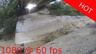 Illgraben flash flood, debris flow, Murgang, Schlammlawine