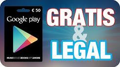 Leicht und legal Google Play Guthaben kostenlos bekommen!