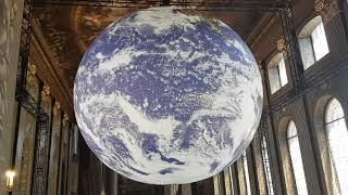 Gaia Painted Hall Old Royal Naval College Greenwich June 2021