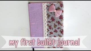 מדריך בולט ג'ורנל למתחילים-מנסה בפעם הראשונה!🎀 מיתר אסולין🎀new bullet journal for begginers