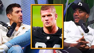 Carl Nassib is the first gay player in the NFL