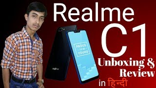 Realme C1 Unboxing And Review In Hindi