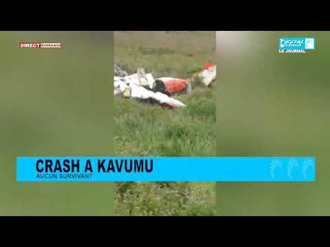 Download Crash d'avion à Kavumu: l'essentiel de ce qui s'est passé!