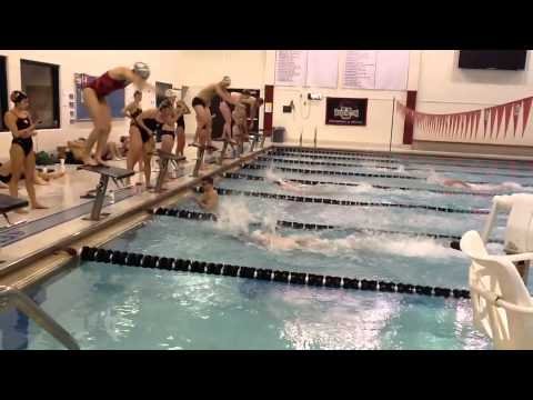 "WUSTL Swimming ""Leave it in the Pool Hour of Power"" Relay for Sarcoma Research"