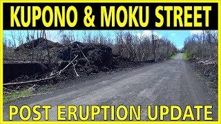 Leilani Estates Kupono & Moku Street Post Kilauea Volcano Eruption Update