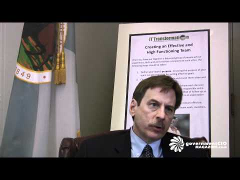 Interview with Bernard J. Mazer, CIO, Department of the Interior