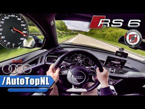 750HP Audi RS6 Avant AUTOBAHN POV PP Performance by AutoTopNL