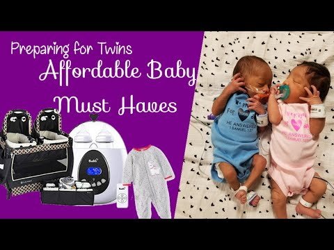 Preparing for Twins | Baby Must Haves for 0 to 3 months | Twins Must Haves