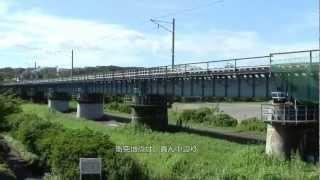 八高線列車正面衝突事故(1945年)現場@東京都昭島市