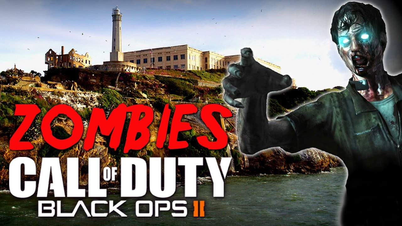 Black Ops 2 MOB OF THE DEAD Alcatraz  Call of Duty Black Ops 2